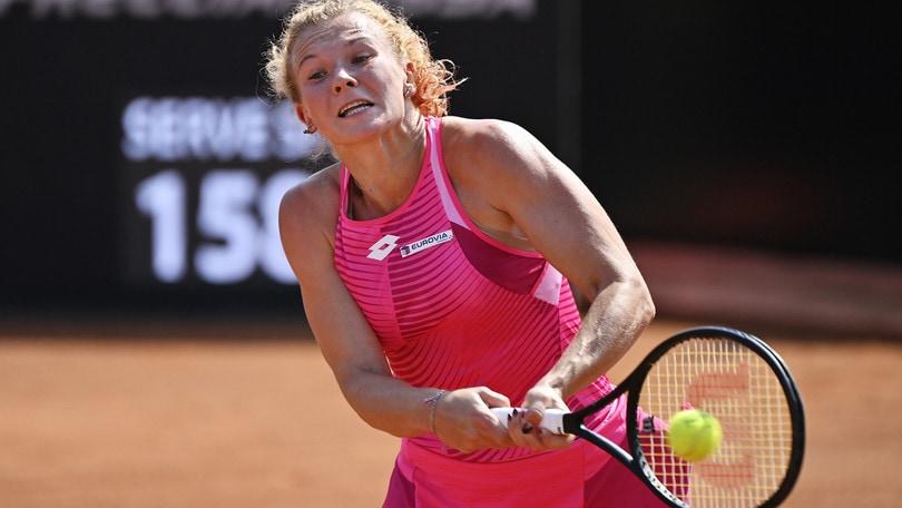 Internazionali d'Italia, Siniakova elimina a sorpresa Kerber