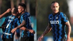 Inter-Lugano 5-0: Lautaro Martinez mattatore, Nainggolan vuole convincere Conte