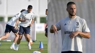 Juve, allenamento verso la Sampdoria: ci sono Khedira e Pjaca