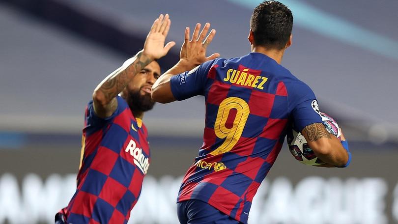 Vidal e Suarez non convocati da Koeman per Barcellona-Girona