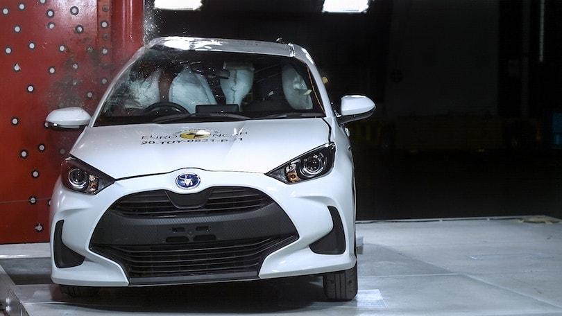 Toyota Yaris a 5 stelle: sempre più affidabile  e sicura per EuroNCAP