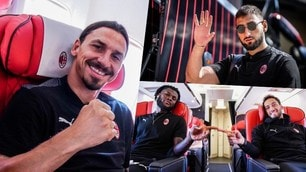 Il Milan verso lo Shamrock: il viaggio per Dublino dei rossoneri