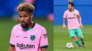 Barça, la nuova maglia rosa fa discutere sul web
