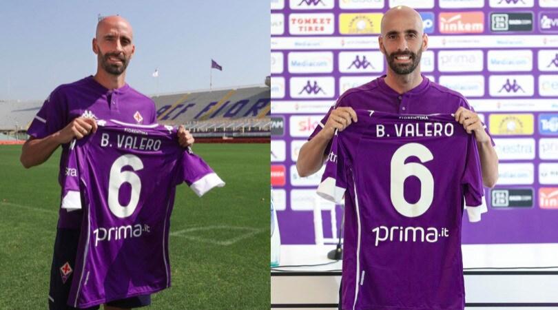 Borja Valero, il ritorno alla Fiorentina con la maglia numero 6