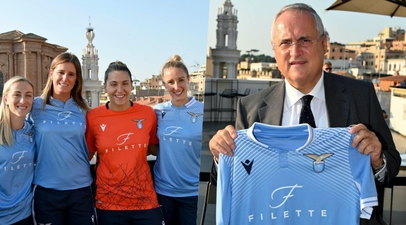 La Lazio Women si presenta: c'è anche Lotito