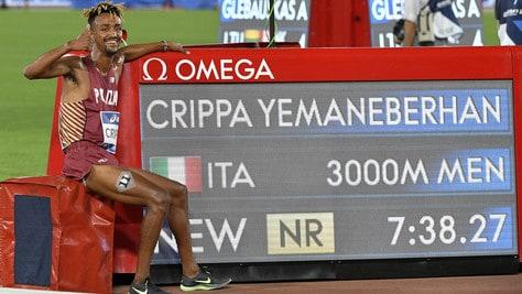 Golden Gala, Crippa batte il record italiano nei 3000 metri