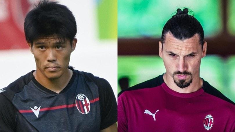 Bologna, Tomiyasu all'esame Ibrahimovic