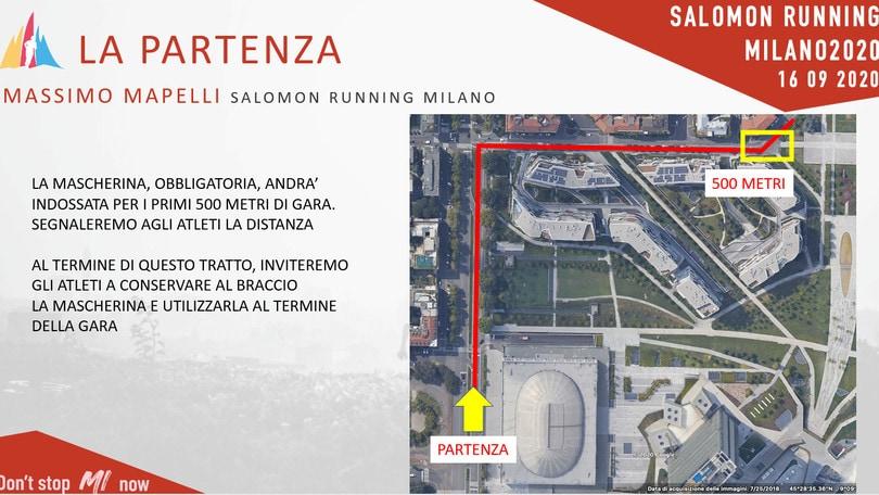 Salomon Running Milano propone tamponi ai partecipanti e agli addetti