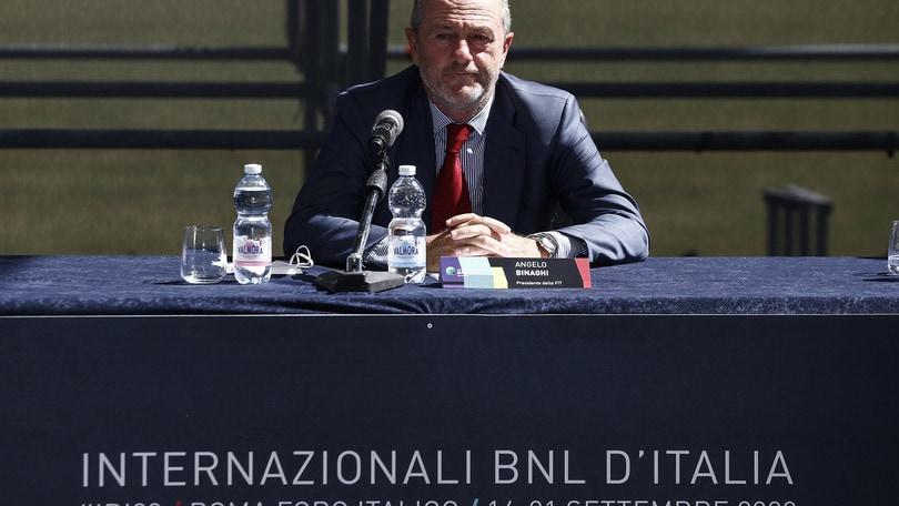 Internazionali d'Italia, Binaghi invita alle finali le ragazze che hanno giocato sui tetti