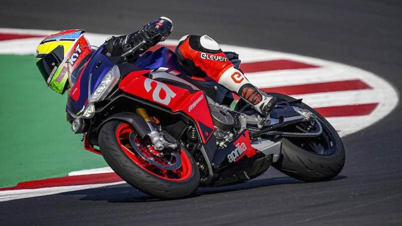 Aprilia RS 660, le impressioni del tester MotoGP sulla media di Noale