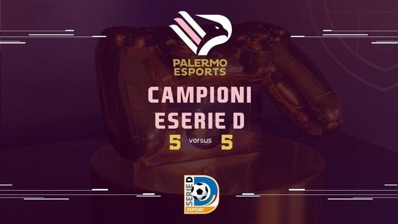 Il Palermo vince la prima edizione della eSerieD