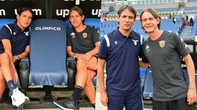 Lazio-Benevento, è sfida tra i fratelli Inzaghi: che sorrisi in panchina!