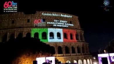 Paralimpiadi di Roma, il video celebrativo dei 60 anni al Colosseo