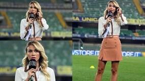 Diletta Leotta, il campionato inizia al Bentegodi per Verona-Roma