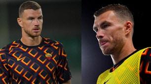 Roma, Dzeko resta in panchina contro il Verona per tutta la partita