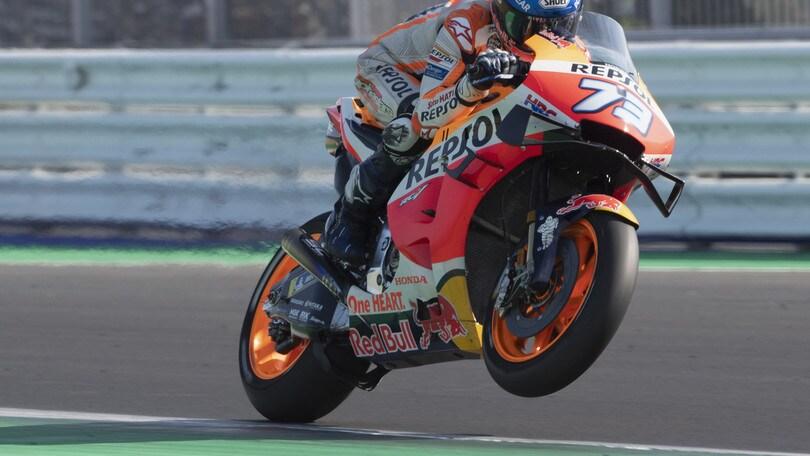 """MotoGp, A.Marquez: """"Contento dei progressi fatti"""""""