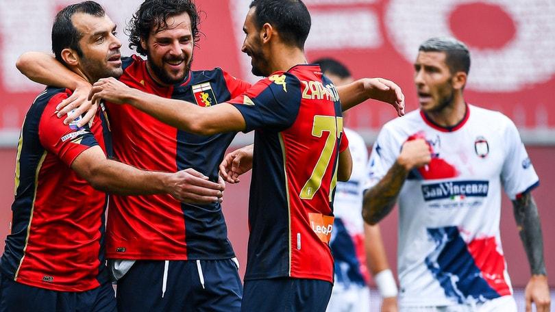 Genoa-Crotone 4-1: show di Destro e Zappacosta. Esordio amaro per Stroppa