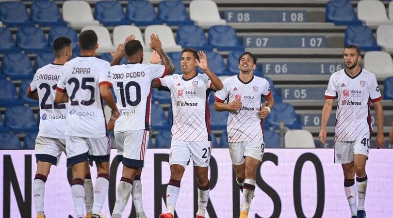 Sassuolo-Cagliari 1-1: sblocca Simeone, pareggia Bourabia