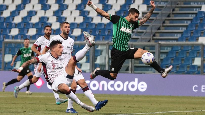 Spezia-Sassuolo 1-4: il Var non ferma Caputo, vola De Zerbi
