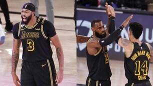 Nba, la decide Davis sulla sirena: i Lakers vanno 2- 0 sui Nuggets