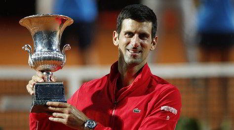 Internazionali, Djokovic re di Roma! Schwartzman ko in finale