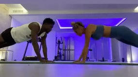 Diawara, allenamento con la fidanzata nel giorno della bufera