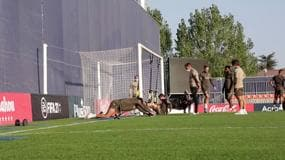 Atletico Madrid, primo allenamento senza Morata