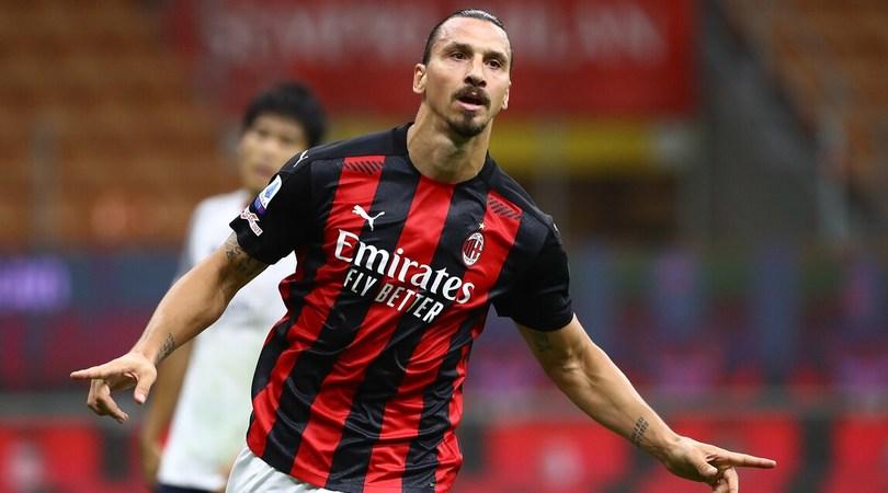 Milan-Bologna 2-0: decide una doppietta di Ibrahimovic