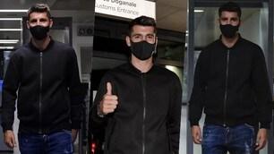 Morata è della Juve: sbarcato a Torino, ora visite e firma