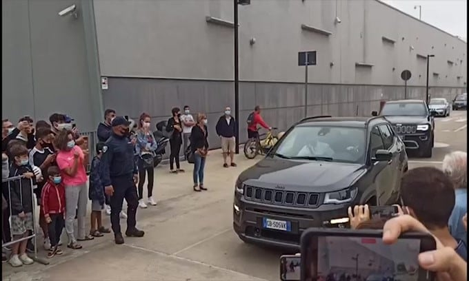 Juve, Morata arriva al J Medical