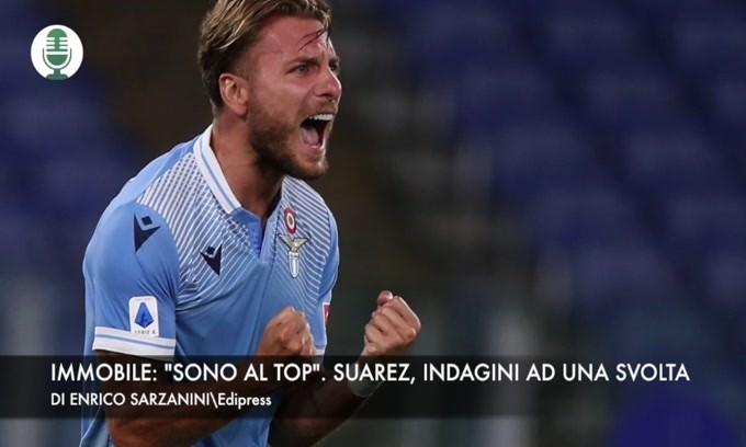 """Lazio, Immobile: """"Sono al top"""". Suarez, indagini ad una svolta"""