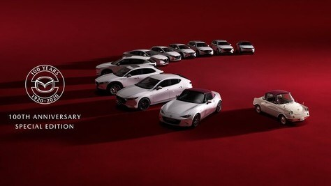 Mazda 100th Anniversary, la serie speciale arriva in Italia