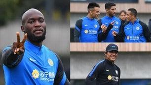 Inter al lavoro: Conte prepara la sfida con la Fiorentina