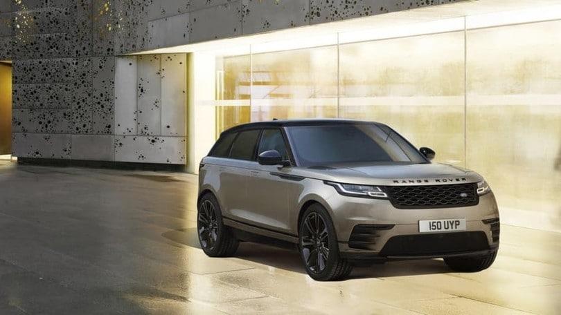 Range Rover Velar, nuove motorizzazioni ed esclusivo infotainment