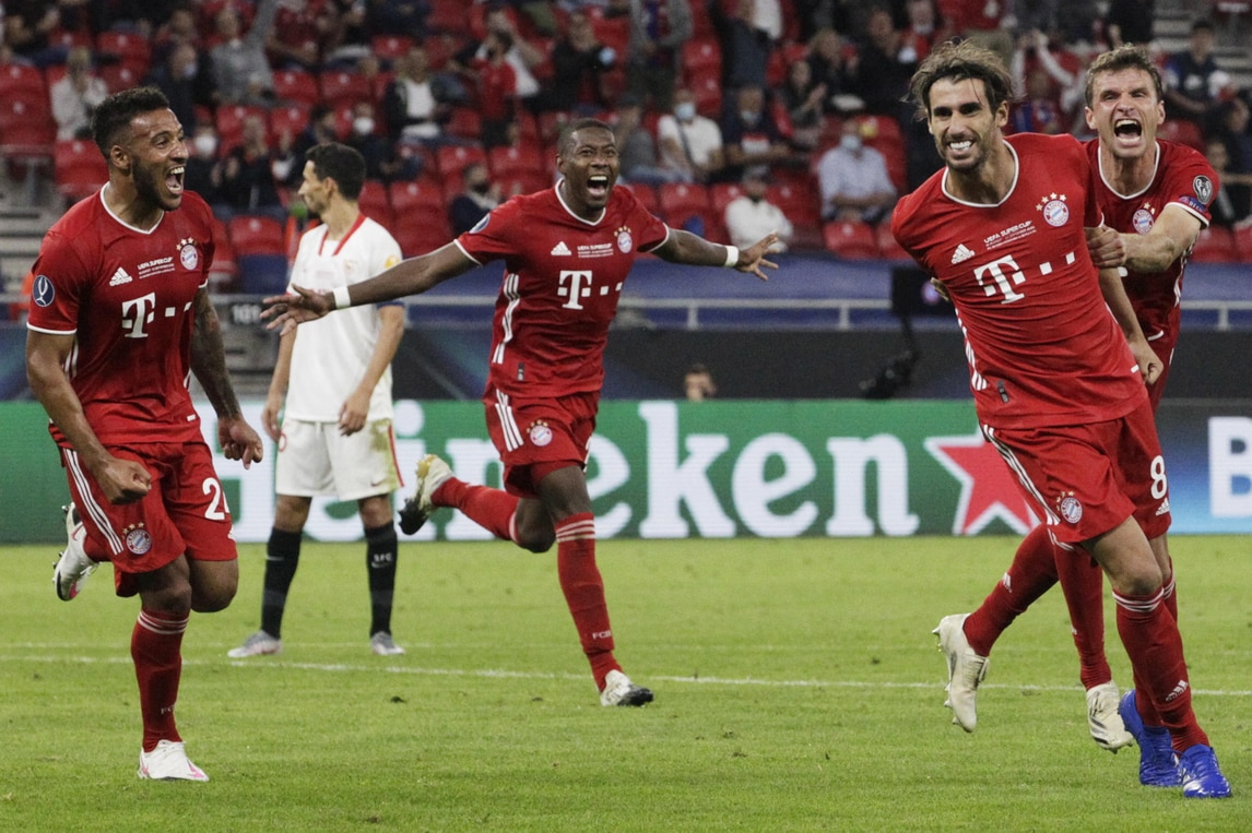 Bayern Monaco-Siviglia 2-1: Javi Martinez regala a Flick la Supercoppa Europea