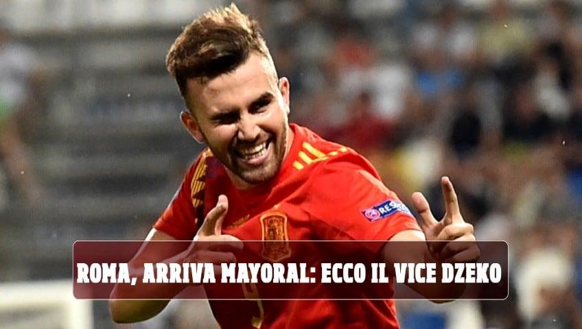 Roma, arriva Mayoral: ecco il vice Dzeko