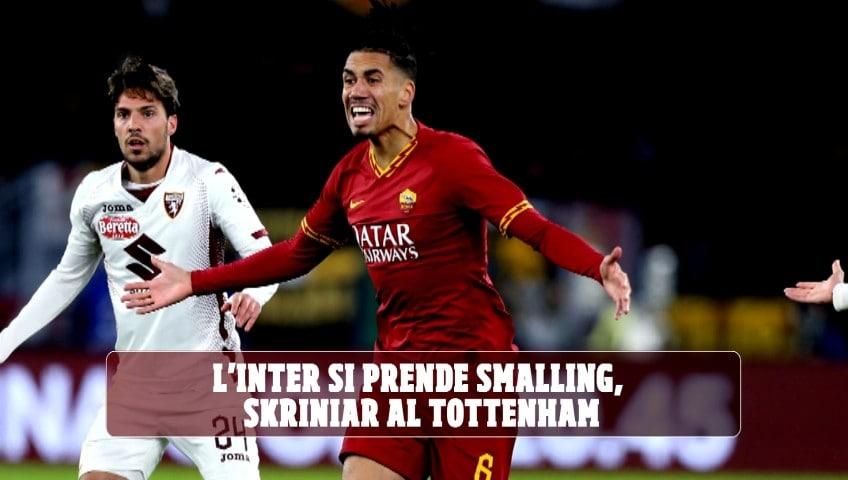 L'Inter si prende Smalling, Skriniar al Tottenham