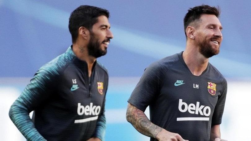 Barcellona, Messi a Luis Suarez: