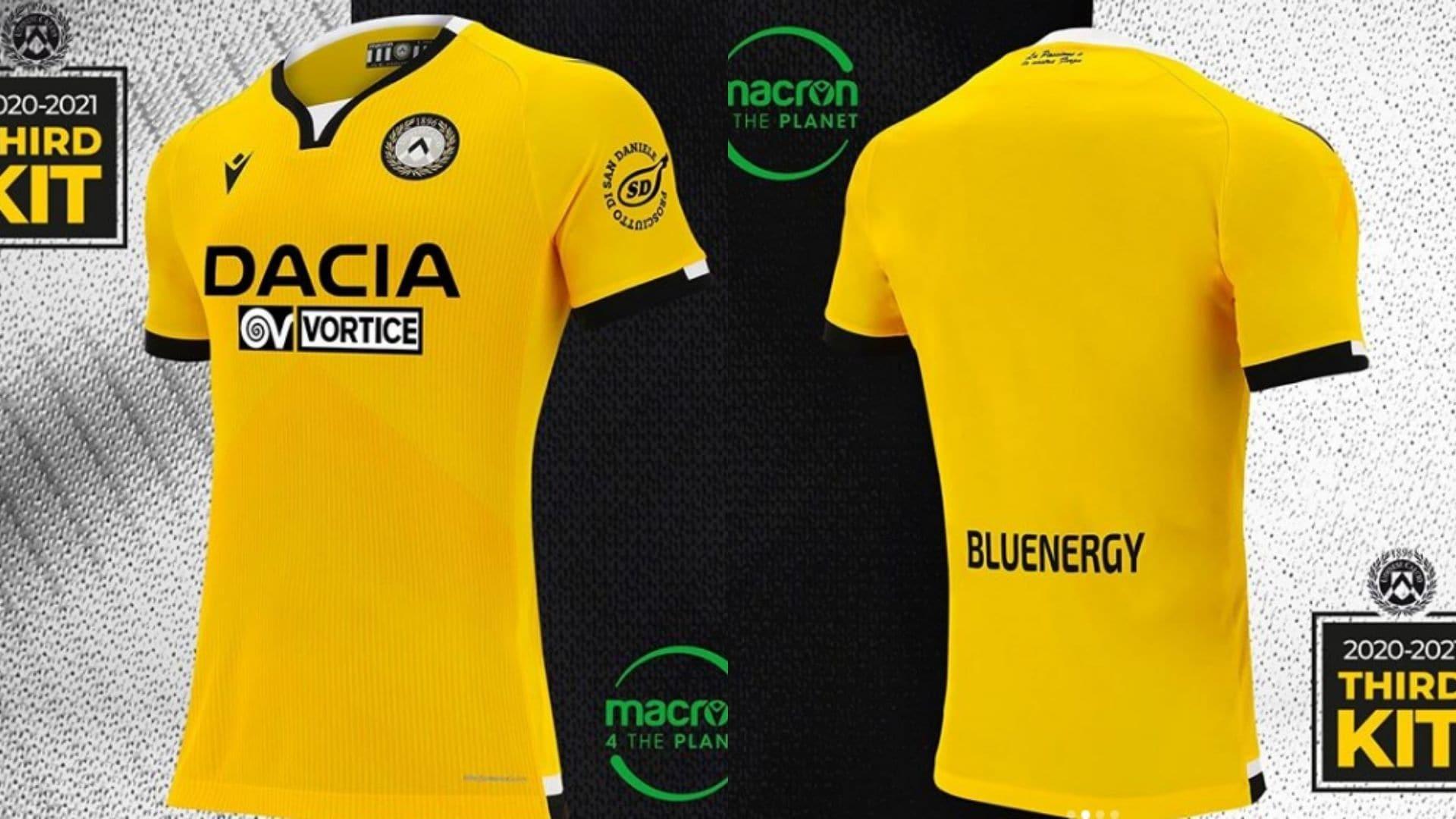 Udinese presenta la Third: svelata la terza maglia 2020-21 FOTO