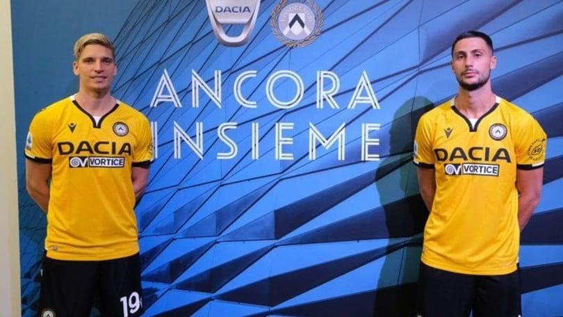 Udinese, terza maglia ecosostenibile in giallo ocra per la stagione 2020-21