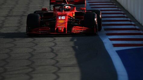 GP Russia: le Mercedes comandano nelle seconde libere, Leclerc ottavo