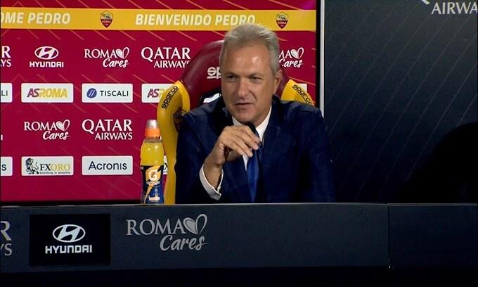 """Fienga: """"Dzeko resterà il nostro capitano"""""""