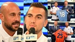 Lazio, ecco Escalante e Reina: i calciatori presentati da Tare