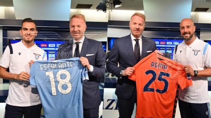 Lazio, Escalante e Reina: