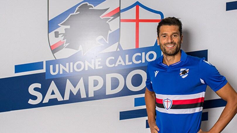 Sampdoria, colpo Candreva: l'ex Inter ha firmato fino al 2024