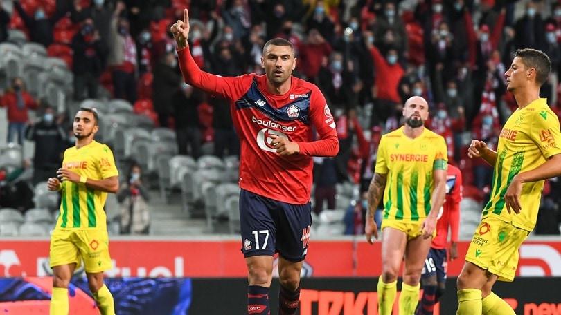 Ligue 1, il Lilla è primo anche senza Osimhen: Nantes ko
