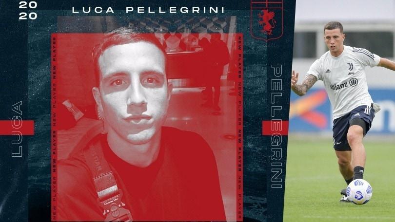 Juve, Pellegrini in prestito al Genoa per un anno: è ufficiale