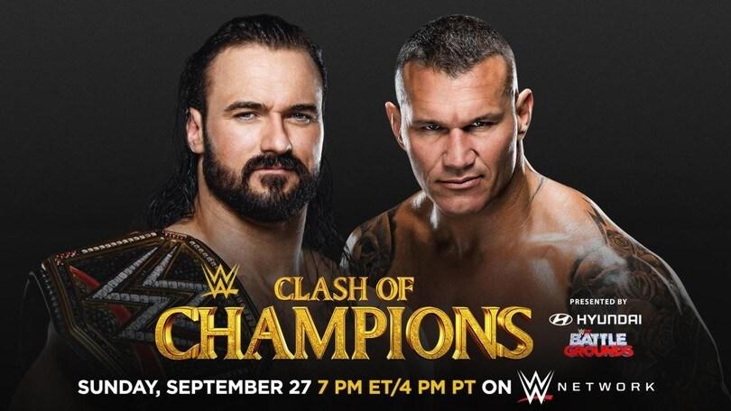 WWE Clash of Champions 2020, tutti i match e dove vederlo