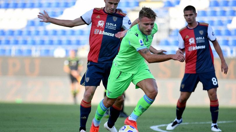 Cagliari-Lazio 0-2, il tabellino