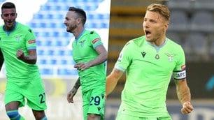 La Lazio è subito vincente: che esultanze per Lazzari e Immobile!